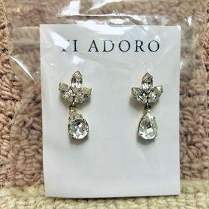 127e5dc16 BHLDN Jewelry | Virginia Drop Earrings Goldclear | Poshmark
